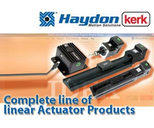 Complete line of linear actuator products with programming capability from Haydon Kerk Motion Solutions, Inc.
